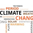 Word cloud - climate change — Vetor de Stock  #82590140