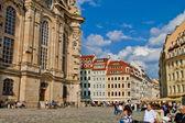 Scene in Dresden City ,Germany — Stock Photo