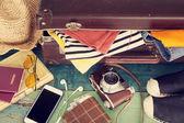 Holiday suitcase — Stock Photo