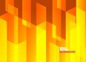Ljusa orange abstrakt bakgrund — Stockvektor