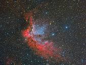 NGC 7380 Wizard Nebula — Zdjęcie stockowe