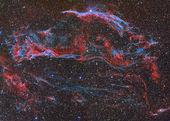 Mgławica welon — Zdjęcie stockowe
