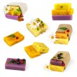 Set of soap with flowers — Stock Photo #59117653