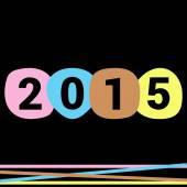 New year invitation — Stock Vector