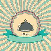 Restoran menü tasarımı — Stok Vektör