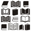 Book icons — Stock Vector #56466597