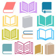 Book icons — Stock Vector #56466685