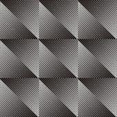 Seamless halftone pattern — Stock Vector