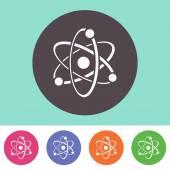 Atom icon — Stock Vector