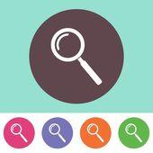 Vector search icon — Stock Vector