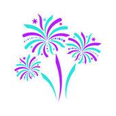 Firework icon — Stock Vector