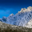 Tatras mountains peaks covered by snow — Stock Photo