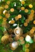 Christmas shiny decoration — Stock Photo