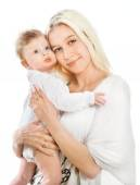 Young mother with baby — Stock Photo