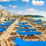 Resort beach of Lloret de Mar — Stock Photo #63979471