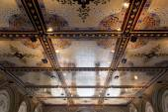 New York City central park Bethesda Terrace underpass arcade det — Stock Photo