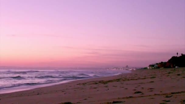 Algarve - Dunas Douradas Sunset, Portugal. — Vídeo de stock