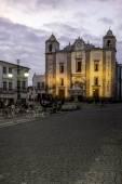 Portugalský alentejo město starého města evora. — Stock fotografie