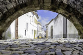 Portuguese Alentejo city of Evora old town. — Stock Photo