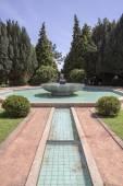 Porto, Portugal - July 05, 2015. Serralves Gardens, A Green Park whit Over 18 Hectares in Porto — Stock Photo