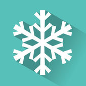 Paper christmass snowflake — Stock Vector