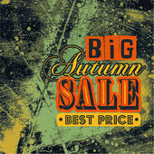 Big Autumn Sale Best Price — Stock Vector