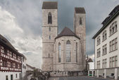 Saint John's parish church in Rapperswil — Foto de Stock