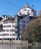 Zurich, Limmat — Stock Photo