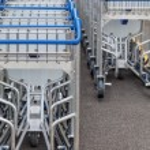 Luggage trolleys — Stock Photo #61168131