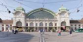 Basel railway station — Stockfoto