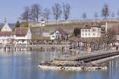 Rapperswil cityscape — Stock Photo