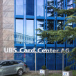 Parking at the UBS Card Center AG office — Stock Photo #70576293