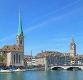 Zurich landmarks — Stock Photo