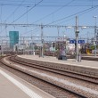 View from the Zurich main railway station platform — Stock Photo #71362607
