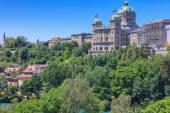 Bern cityscape — Stock Photo