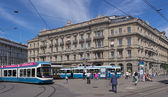 Paradeplatz Square in Zurich — Stock Photo