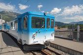 Rigi Railways train in Goldau — Stockfoto