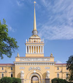 Admiralty building in St. Petersburg, Russia — Stock Photo