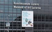 Wall of the Lucerne Culture and Congress Centre building — Stock Photo