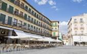 Segovia, i̇spanya eski şehir merkezi kare — Stockfoto