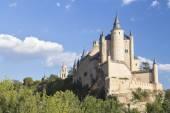 Alcazar Castle in Segovia, Spain  — Stock Photo
