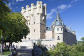 Alcazar Castle in Segovia, Spain  — Stock Photo