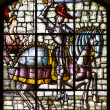Stained glass  Alcazar of Segovia.spain — Stock Photo #54026759