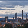 Grangemouth oil refinery complex  — Stock Photo #53952059