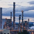 Grangemouth oil refinery complex — Stock Photo #53952113