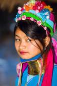 Karen tribal girl — Stock Photo