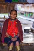 Karen tribal woman — Stock Photo
