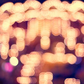 Background of blurred lights — Stock Photo