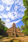 Part of Angkor Wat complex — Stock Photo