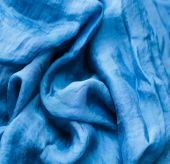 Blue fabric texture background  — Stock Photo